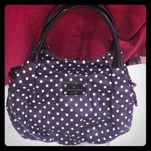 Kate Spade ♠️ polka dot purse with handles